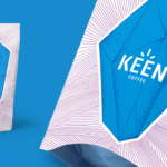 Keen Coffee Packaging & Logo - See more here